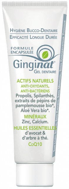 Gel dentaire encapsulé